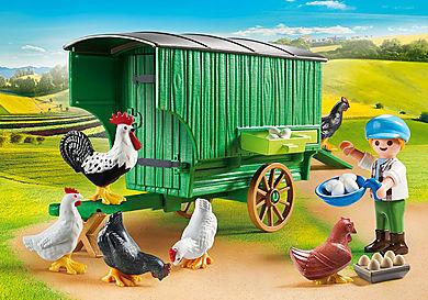 70138 Mobiles Hühnerhaus