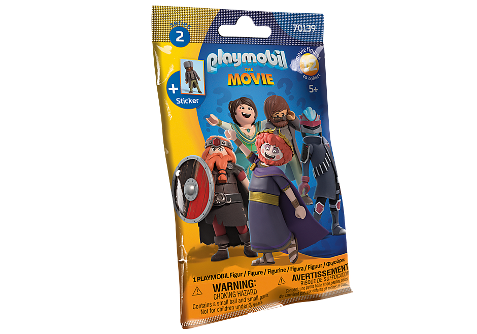 70139 PLAYMOBIL:THE MOVIE Figures (Serie 2) detail image 2