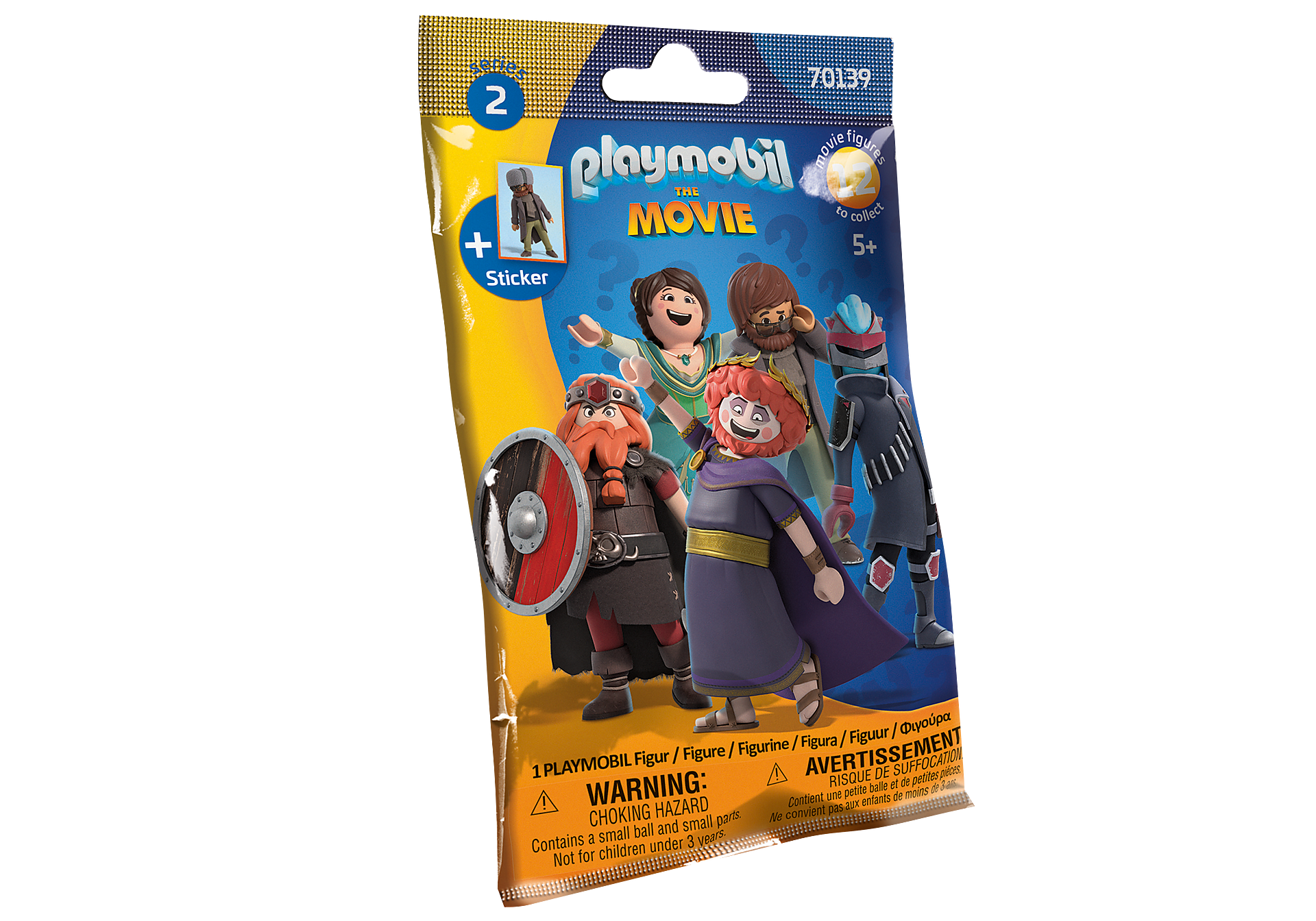 70139 PLAYMOBIL:THE MOVIE Figures (Series 2) zoom image2