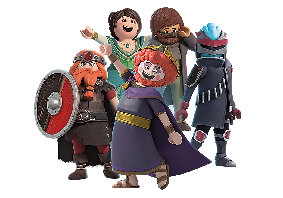 70139 PLAYMOBIL:THE MOVIE Figures (Series 2) detail image 1