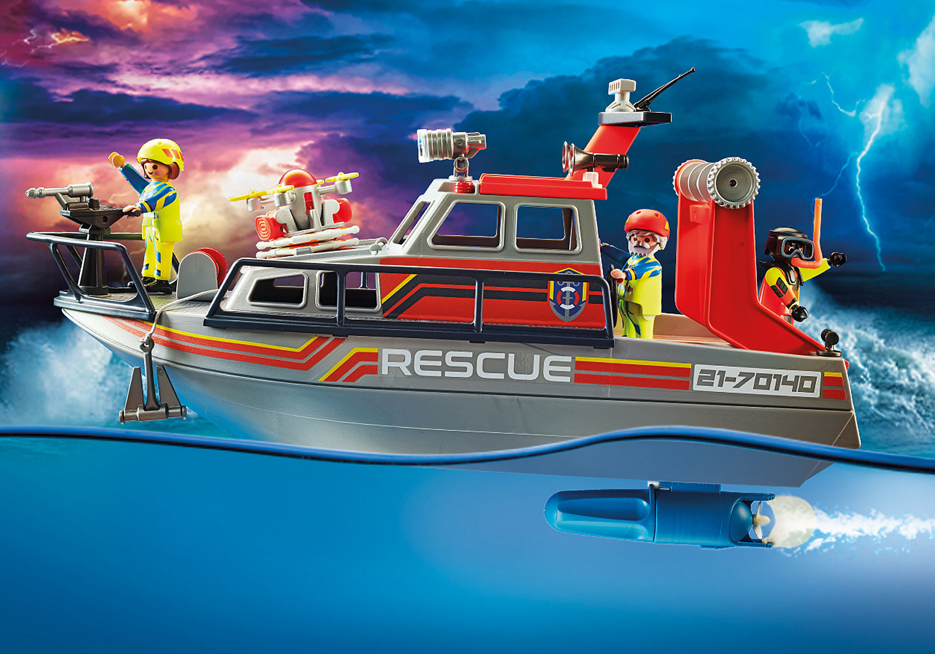 70140 Fire Rescue with Personal Watercraft zoom image4