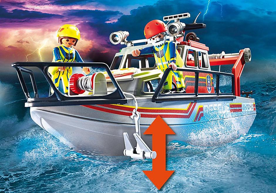 70140 Redding op zee: brandbestrijdingsmissie met reddingscruiser detail image 5