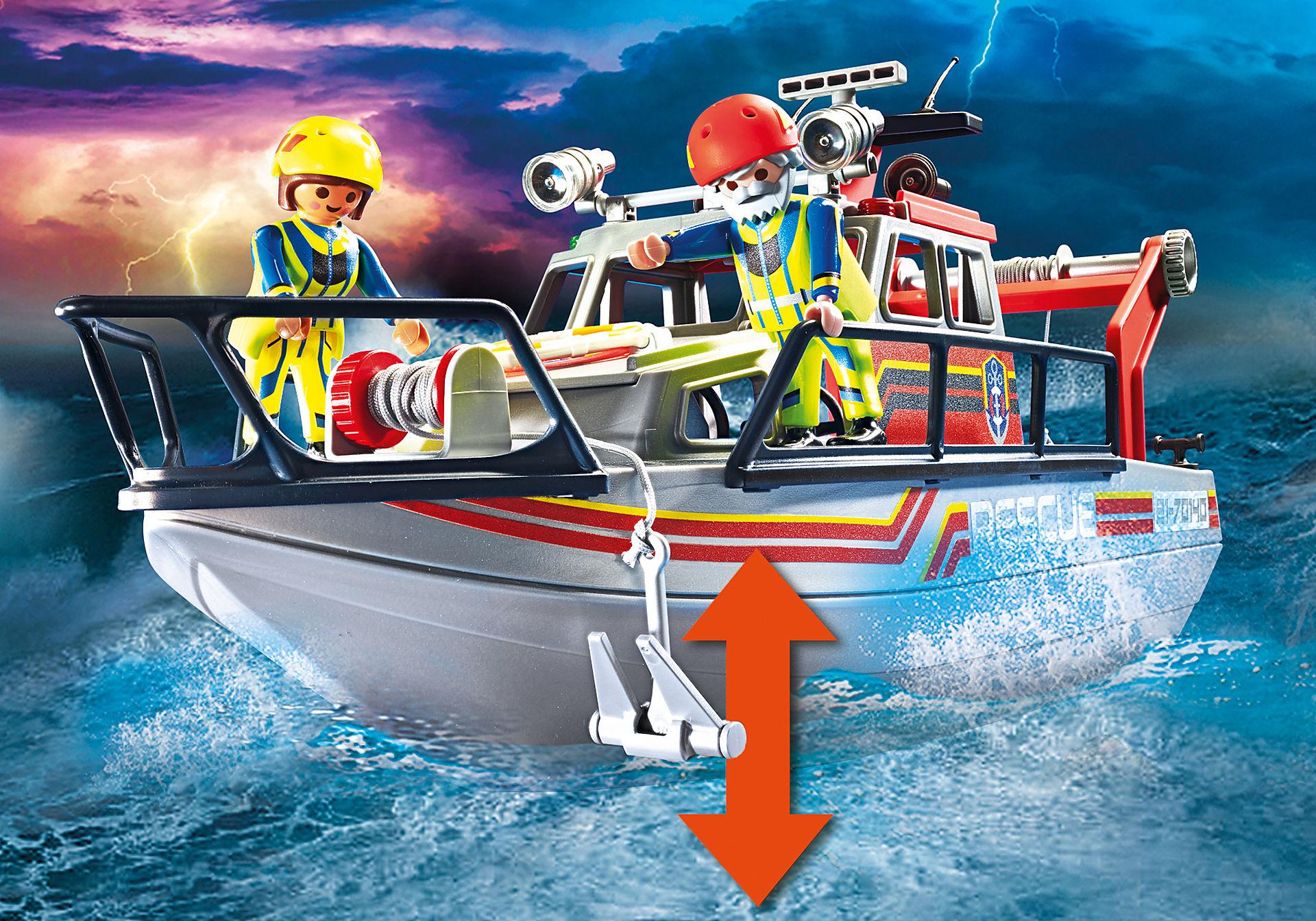 70140 Redding op zee: brandbestrijdingsmissie met reddingscruiser zoom image5