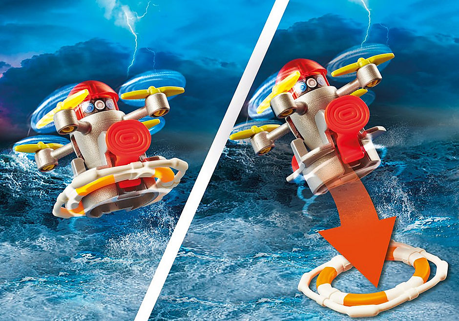 70140 Fire Rescue with Personal Watercraft detail image 6