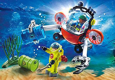 70142 Redding op zee: omgevingsmissie met duikboot