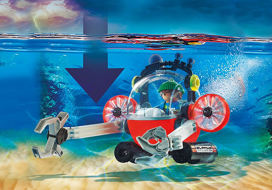 70142 Redding op zee: omgevingsmissie met duikboot detail image 4