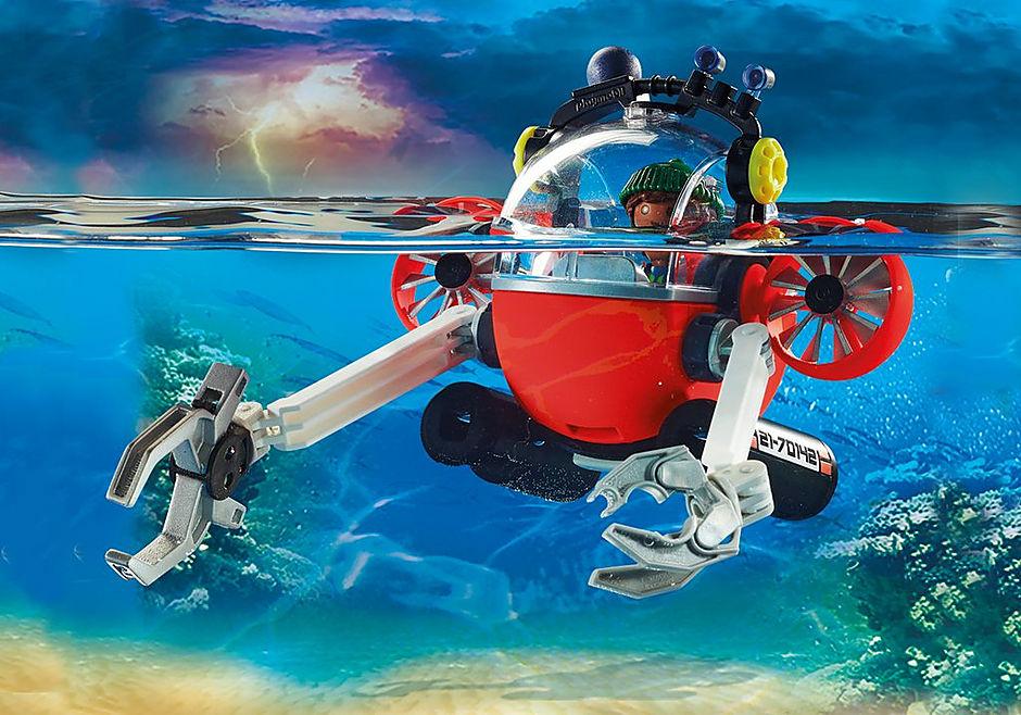 70142 Agents de fonds marins avec cloche de plongée detail image 5