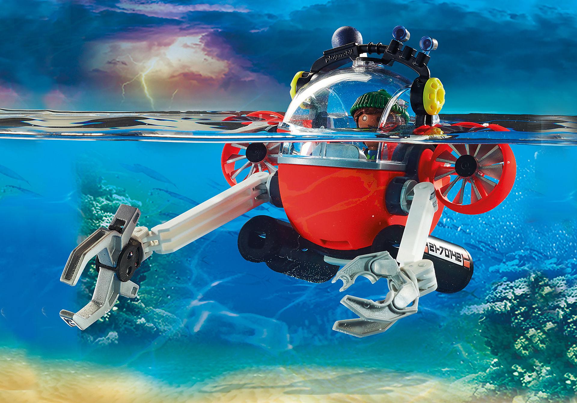 70142 Seenot: Umwelteinsatz mit Tauchboot zoom image5
