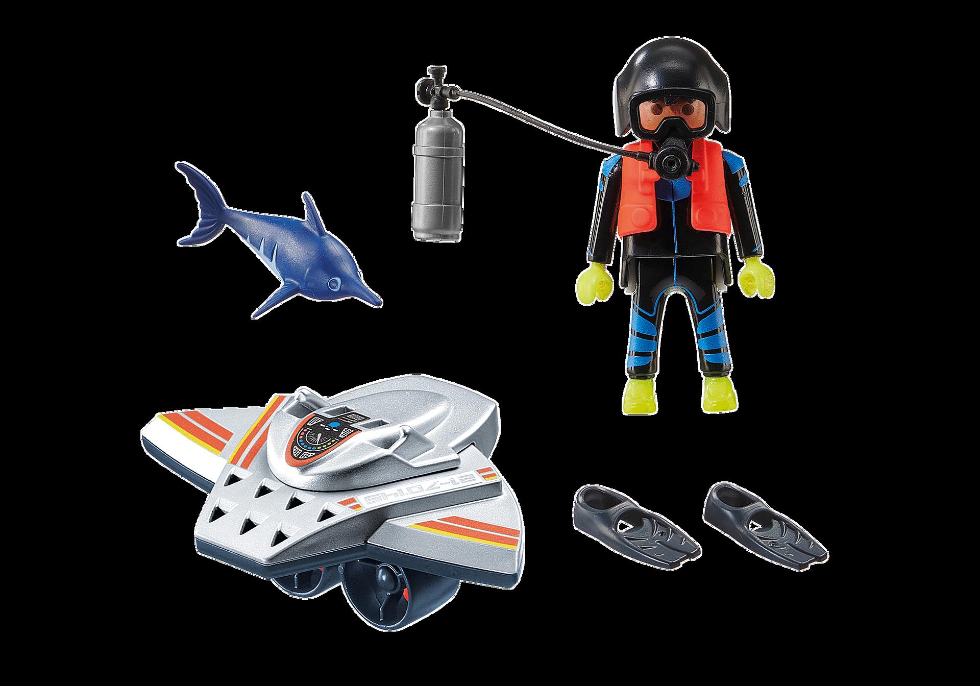 70145 Redding op zee: duikscooter in de reddingsmissie zoom image3