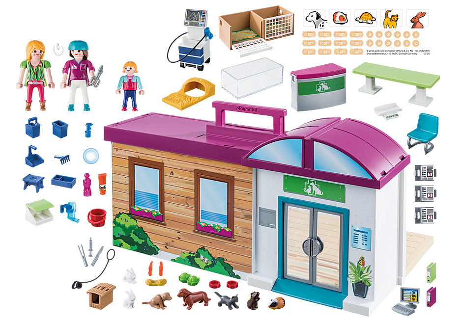 http://media.playmobil.com/i/playmobil/70146_product_box_back/Clinique vétérinaire transportable