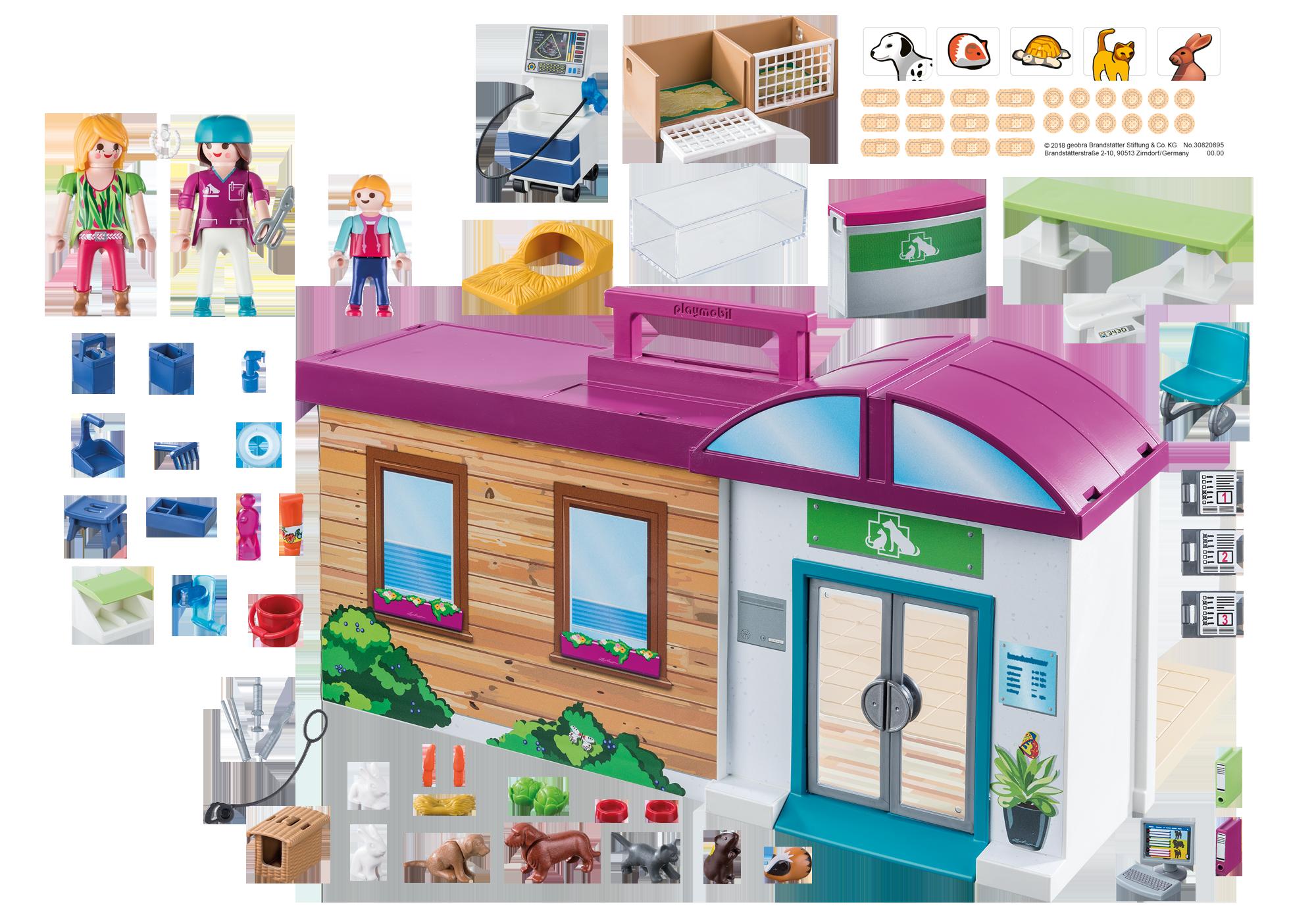 http://media.playmobil.com/i/playmobil/70146_product_box_back/Clinique vétérinaire transportable