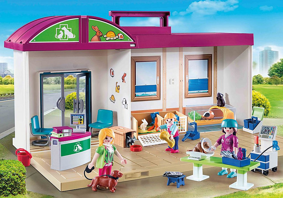 http://media.playmobil.com/i/playmobil/70146_product_detail/Clinique vétérinaire transportable