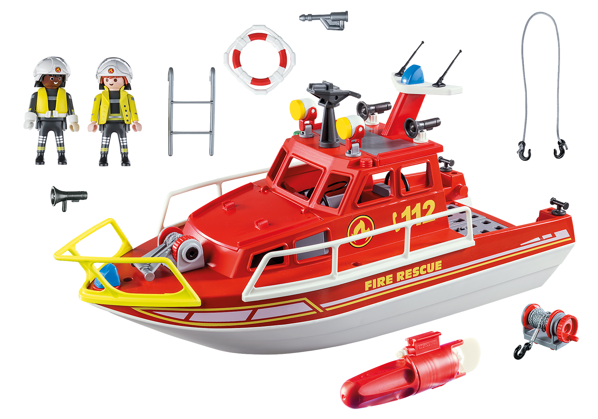 70147 Fire Rescue Boat zoom image3
