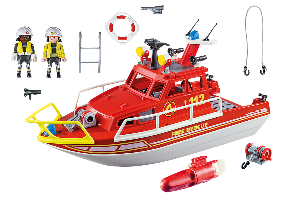 70147 Fire Rescue Boat detail image 3