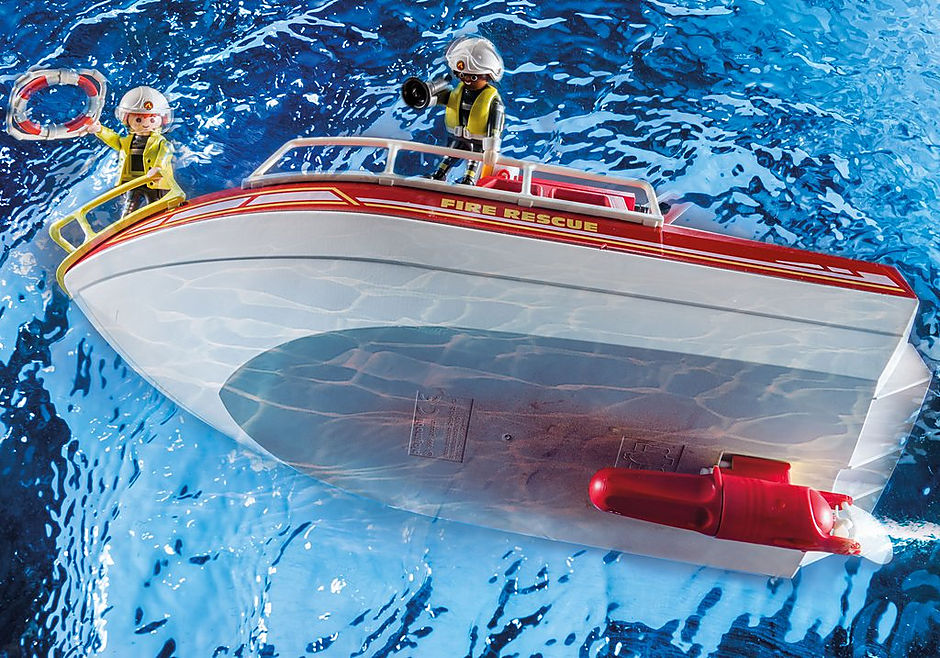 70147 Bateau de sauvetage et pompiers detail image 6