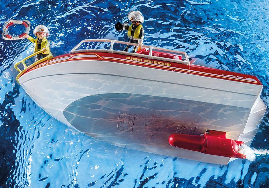 70147 Brandvæsenets redningsbåd detail image 6