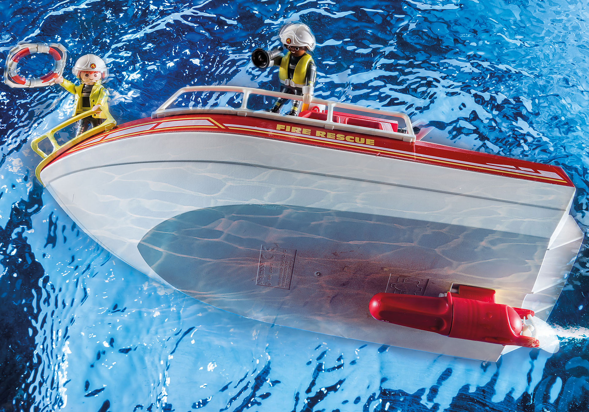 70147 Fire Rescue Boat zoom image6
