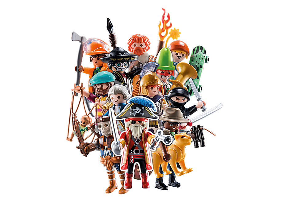 70148 PLAYMOBIL-Figures Jongens (Serie 20) detail image 1