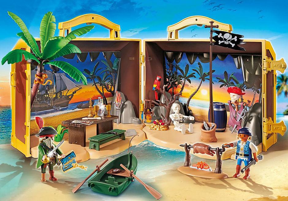 70150 Take Along Pirate Island detail image 1