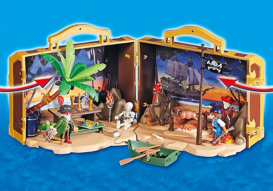 70150 Coffre des pirates transportable detail image 5