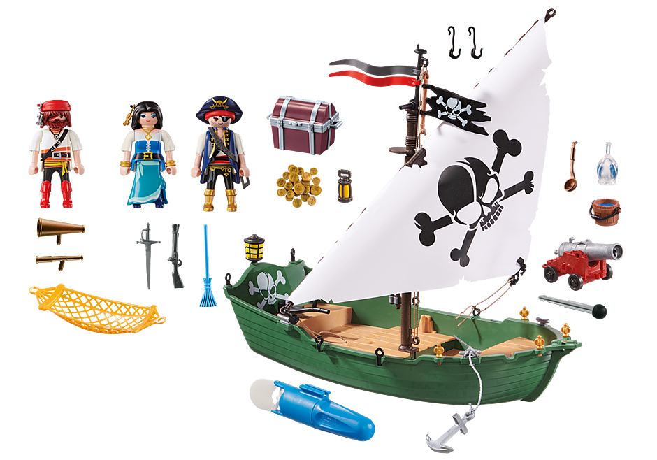 70151 Pirate Ship with Underwater Motor detail image 3