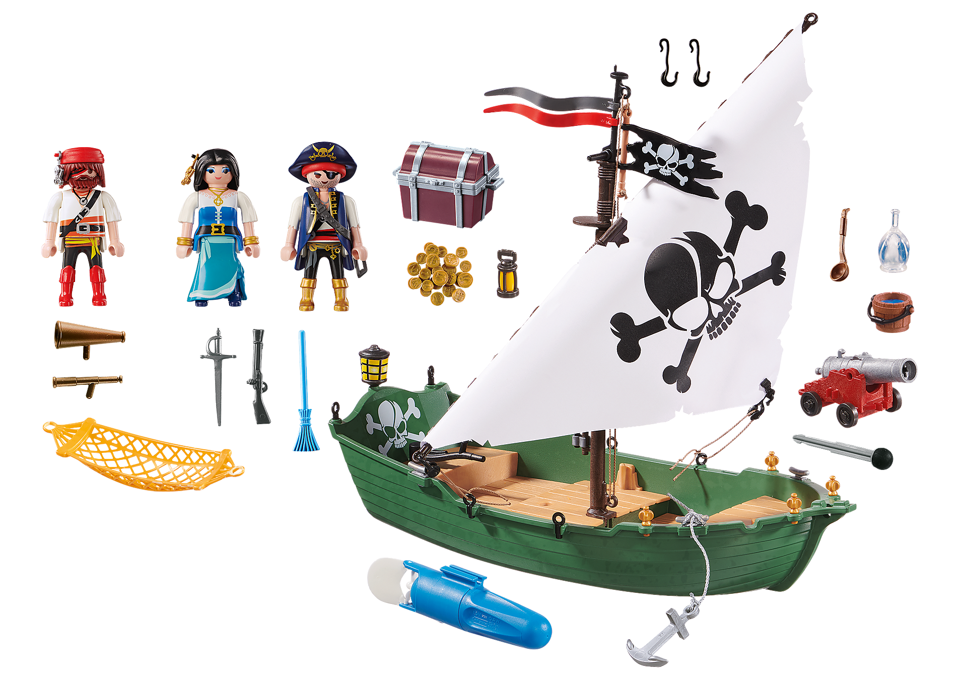 70151 Pirate Ship with Underwater Motor zoom image3