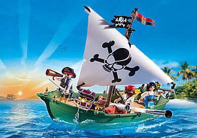 70151 Chaloupe des pirates avec moteur submersible