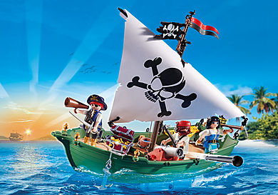 70151 Pirate Ship with Underwater Motor