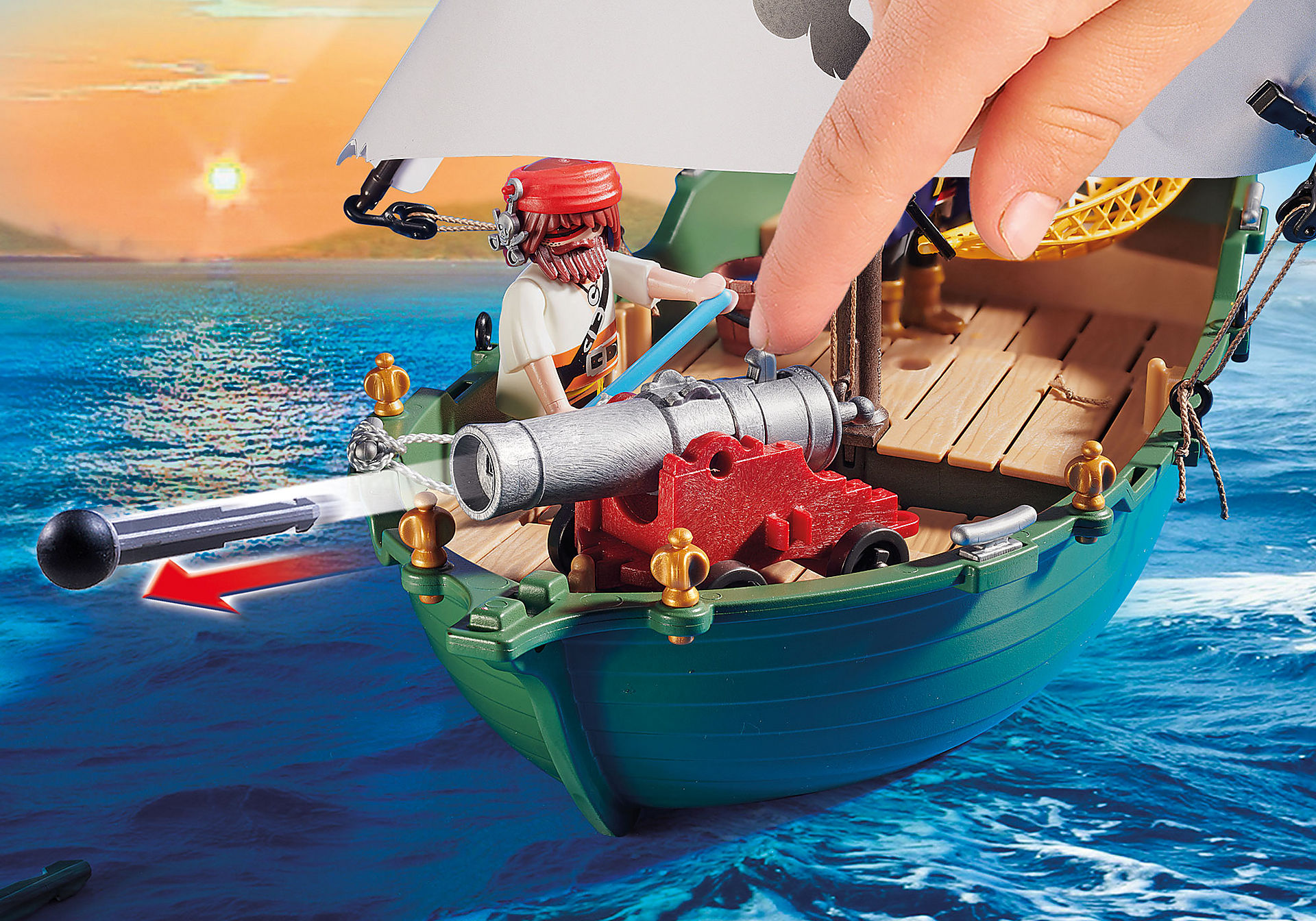 70151 Barco Pirata con motor submarino zoom image4