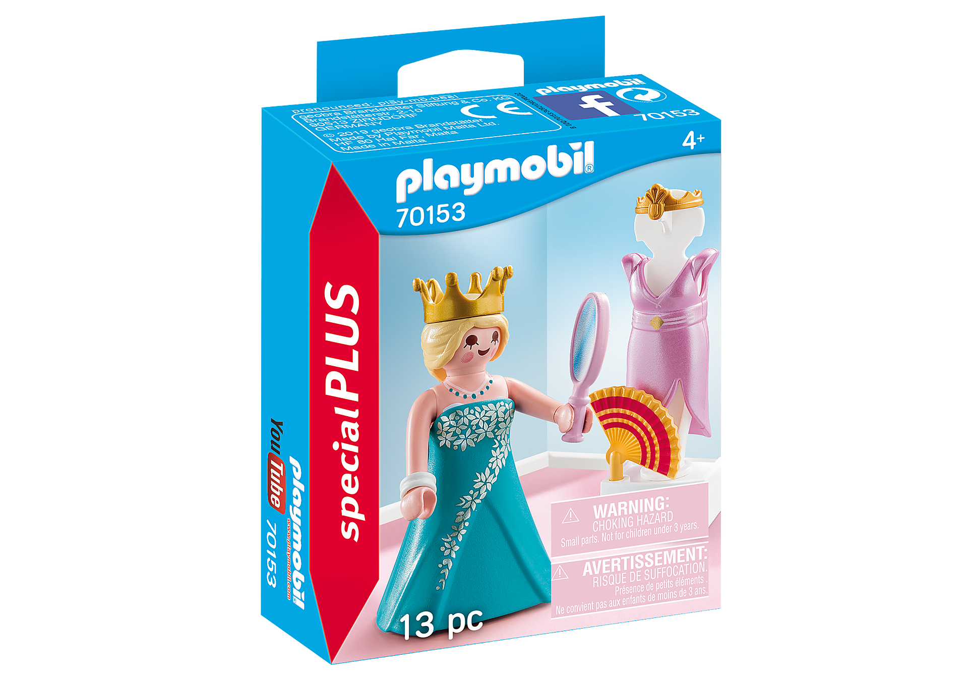 70153 Prinsesse med påklædningsfigur zoom image2