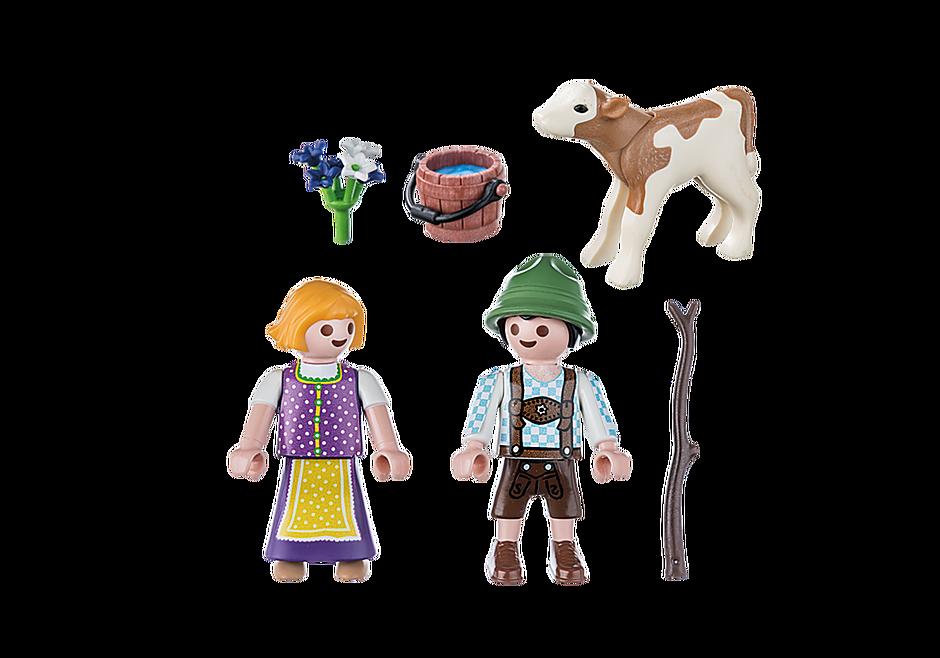 70155 Enfants avec veau detail image 3
