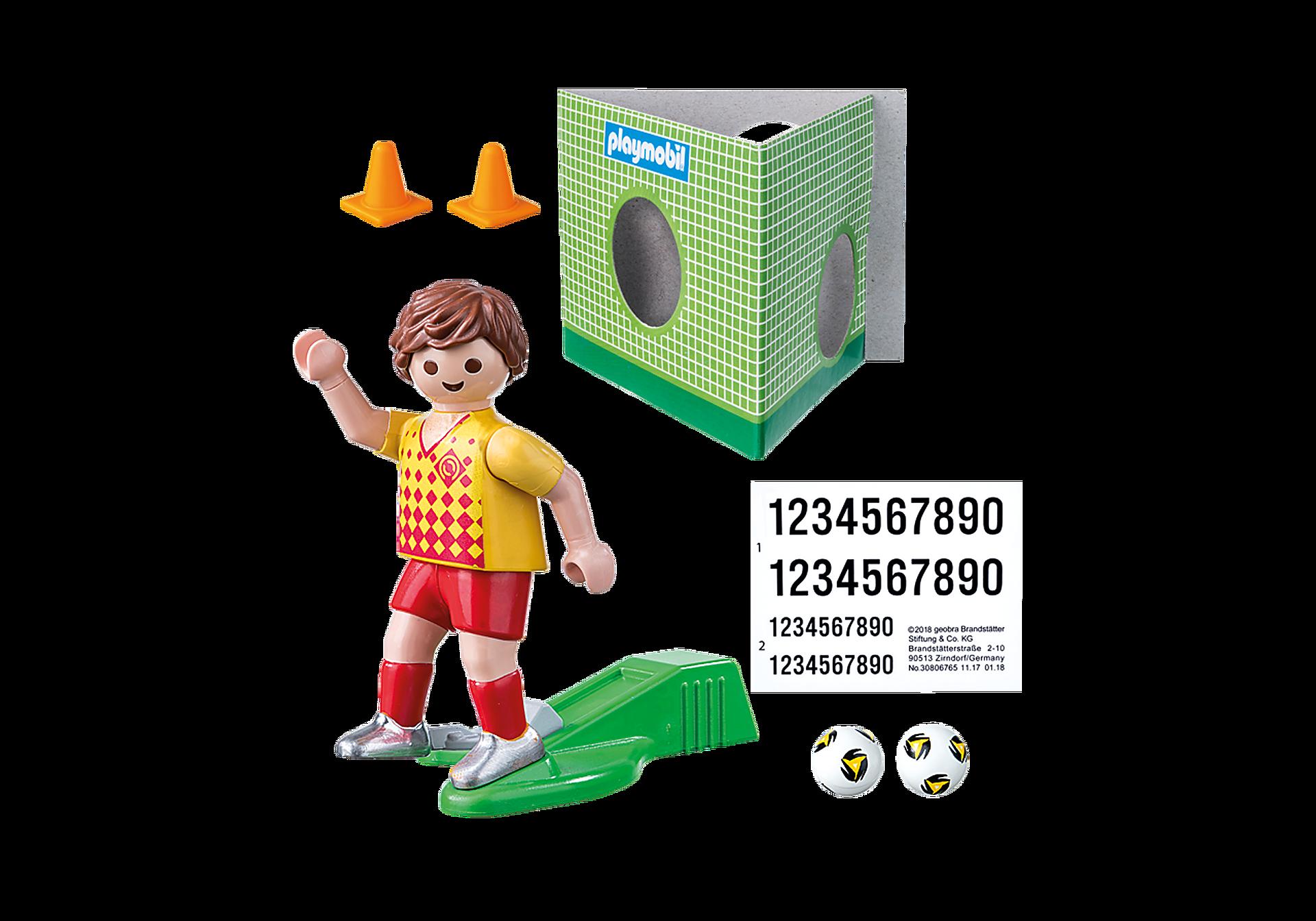 70157 Fotbollsspelare med mål zoom image3