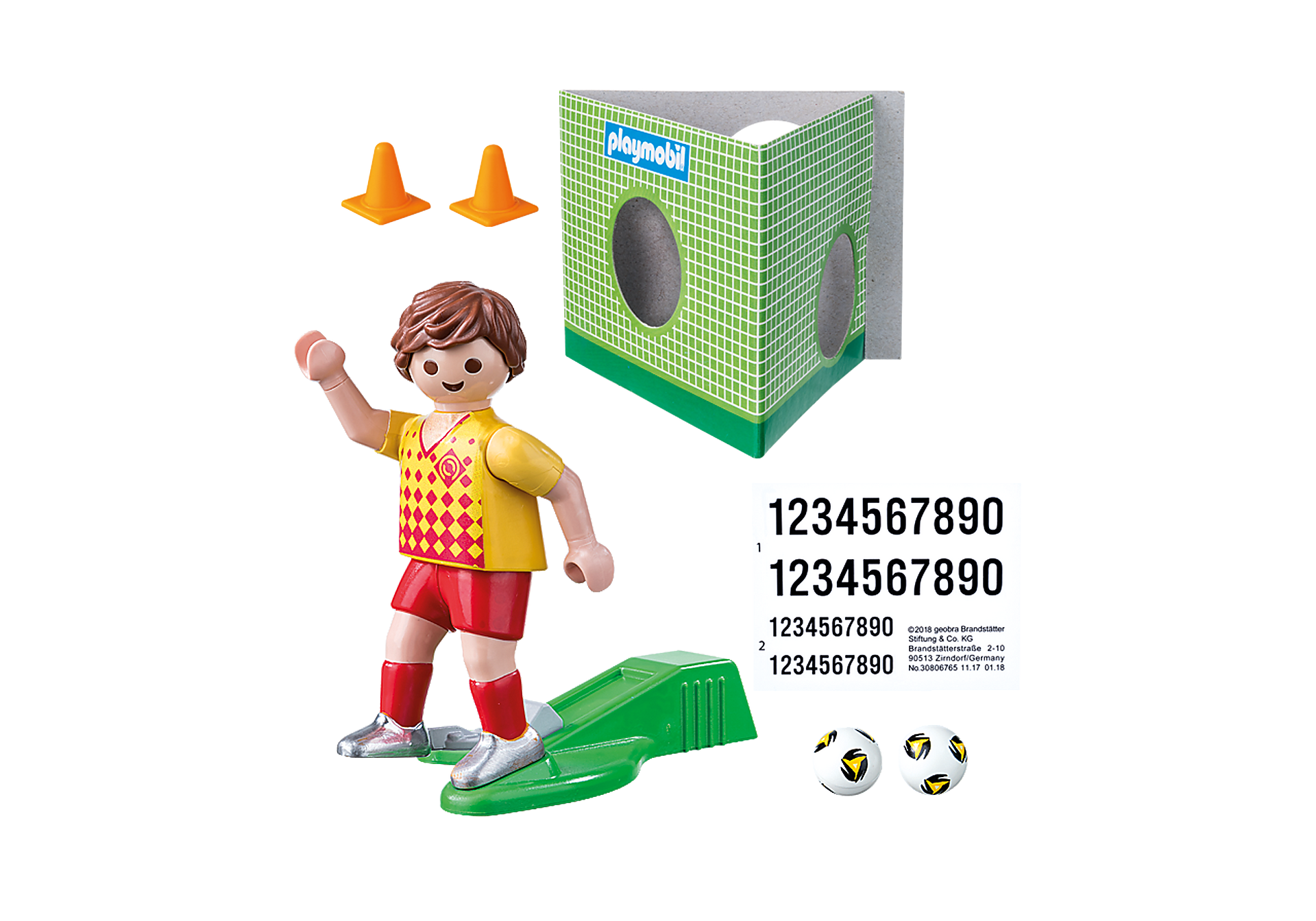 70157 Soccer Player with Goal zoom image3