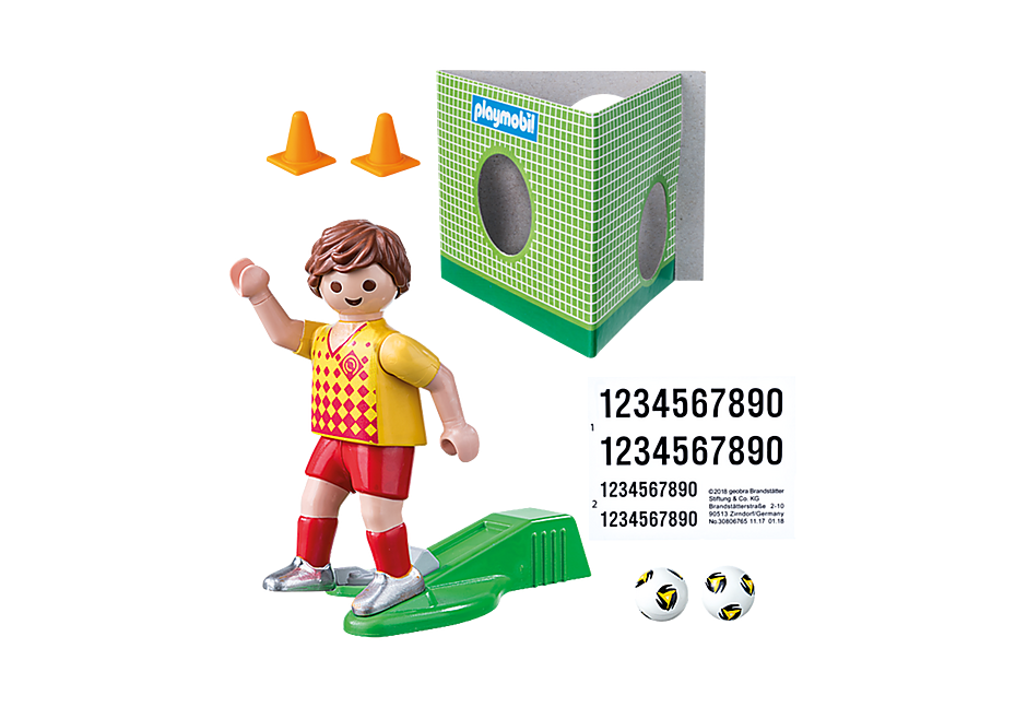 70157 Soccer Player with Goal detail image 3