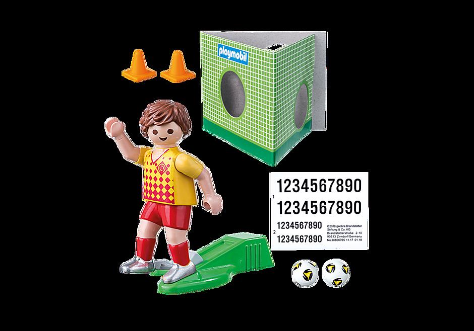 70157 Voetballer met doel detail image 3