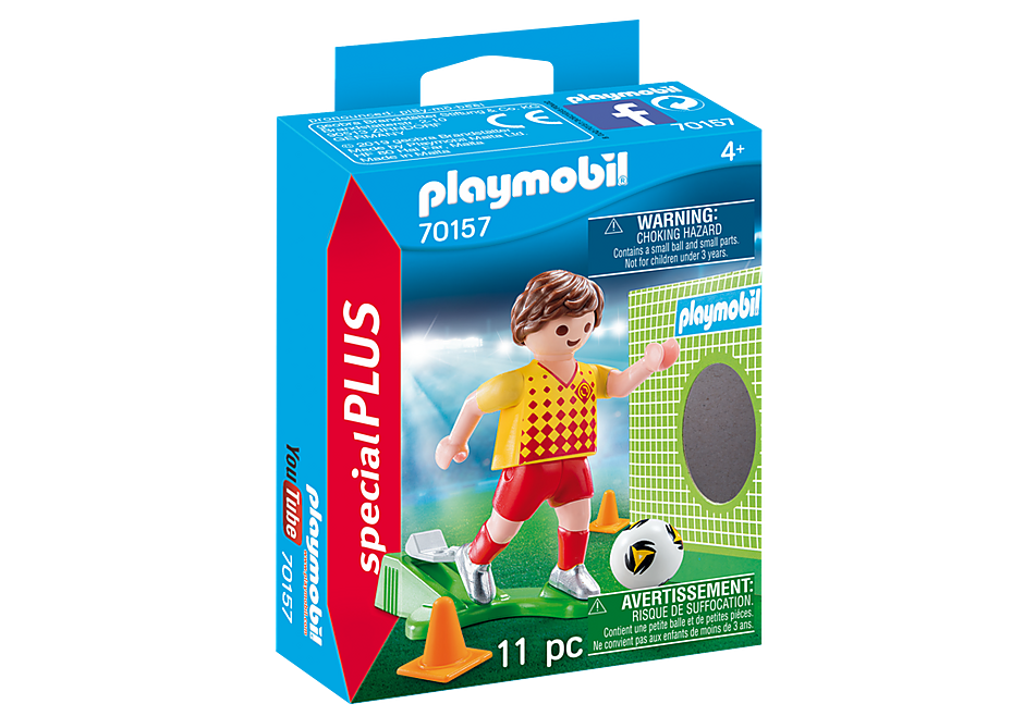 70157 Soccer Player with Goal detail image 2