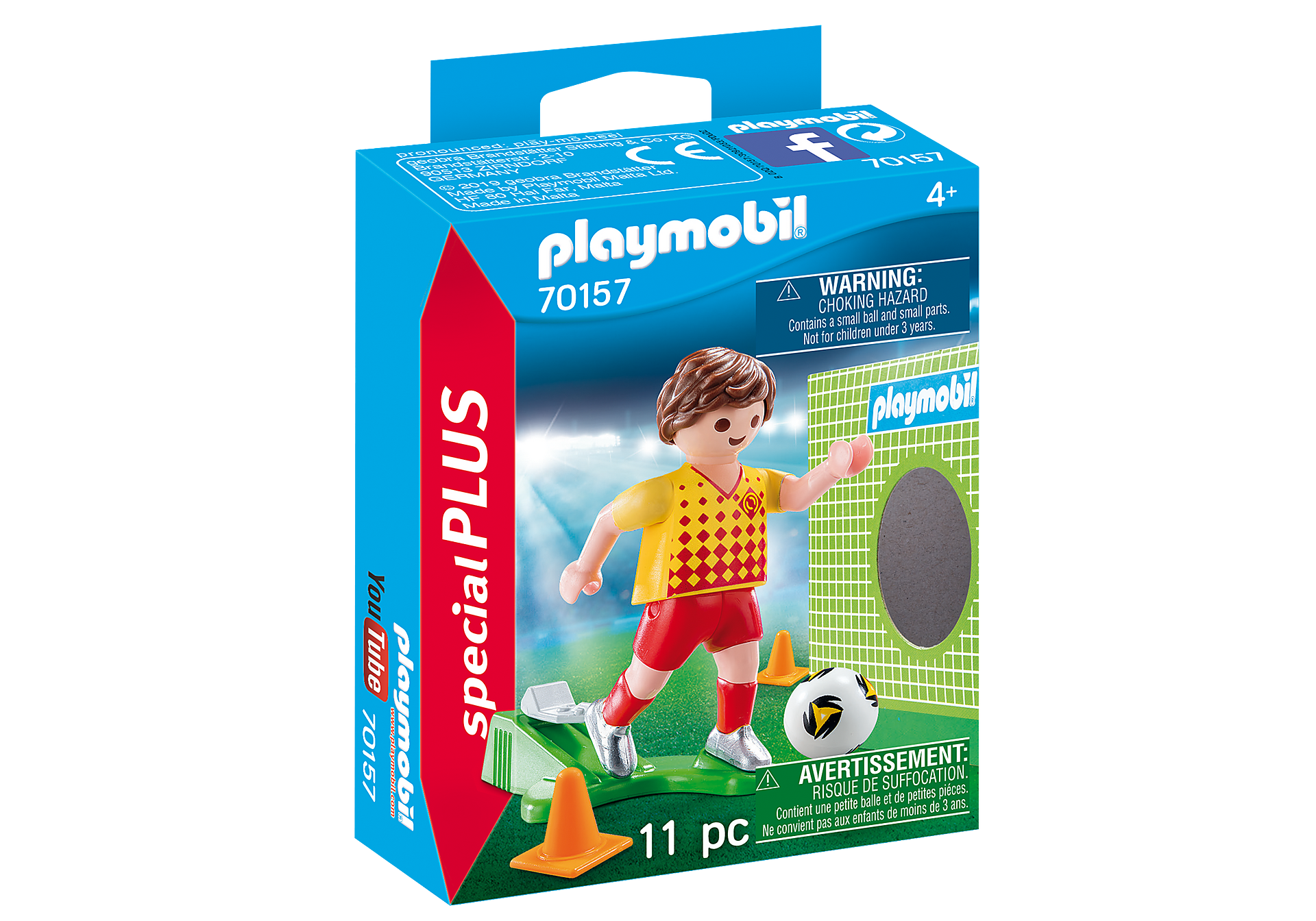 70157 Soccer Player with Goal zoom image2