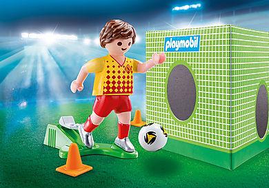 70157_product_detail/Fodboldspiller med mål