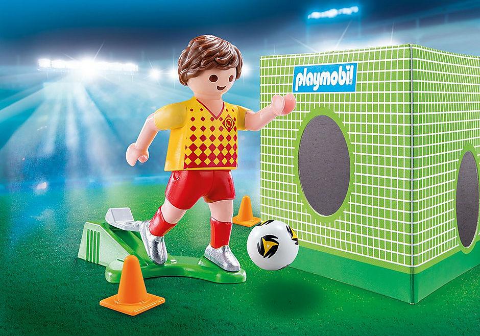 70157 Piłkarz ze ścianką treningową detail image 1