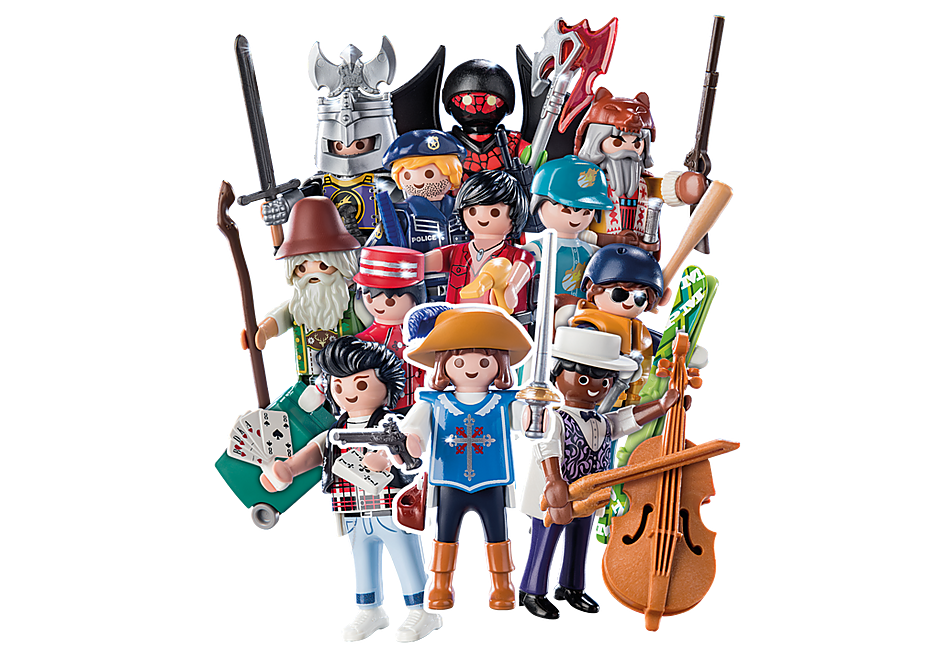 70159 PLAYMOBIL-Figures Boys (S16) detail image 1