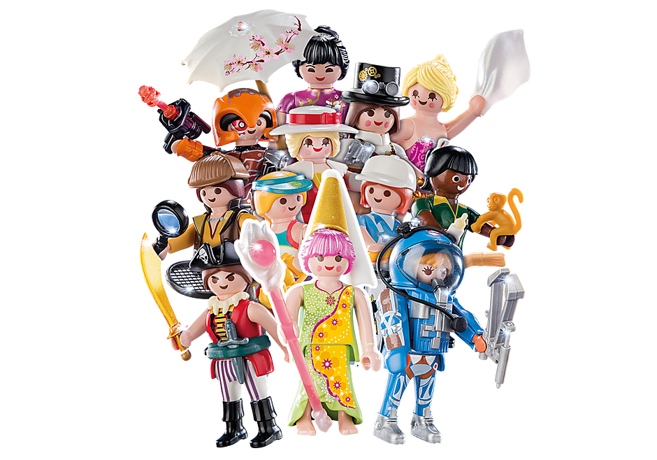 70160 PLAYMOBIL-Figures Girls (S16) detail image 1
