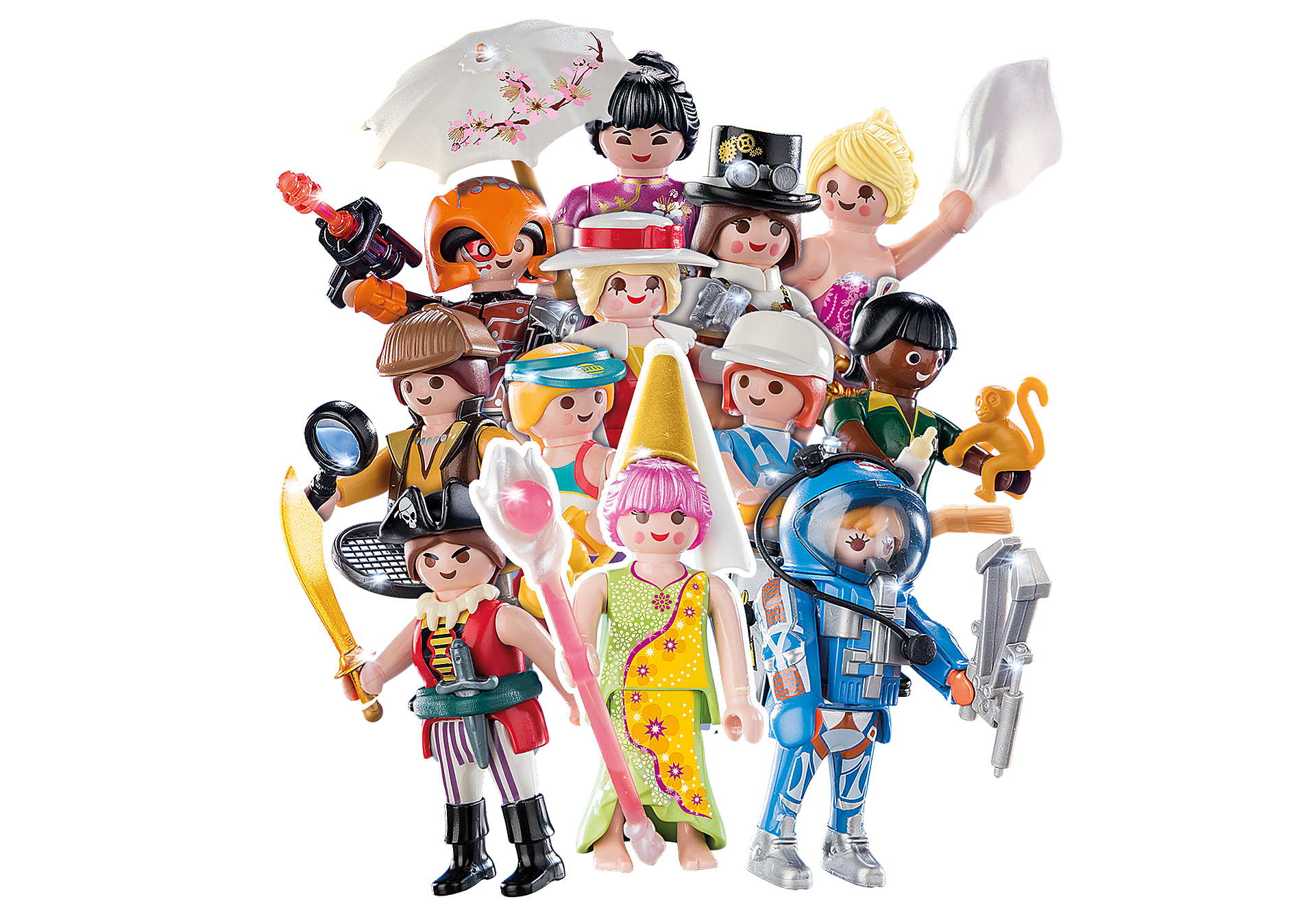 70160 PLAYMOBIL-Figures Girls (S16) zoom image1