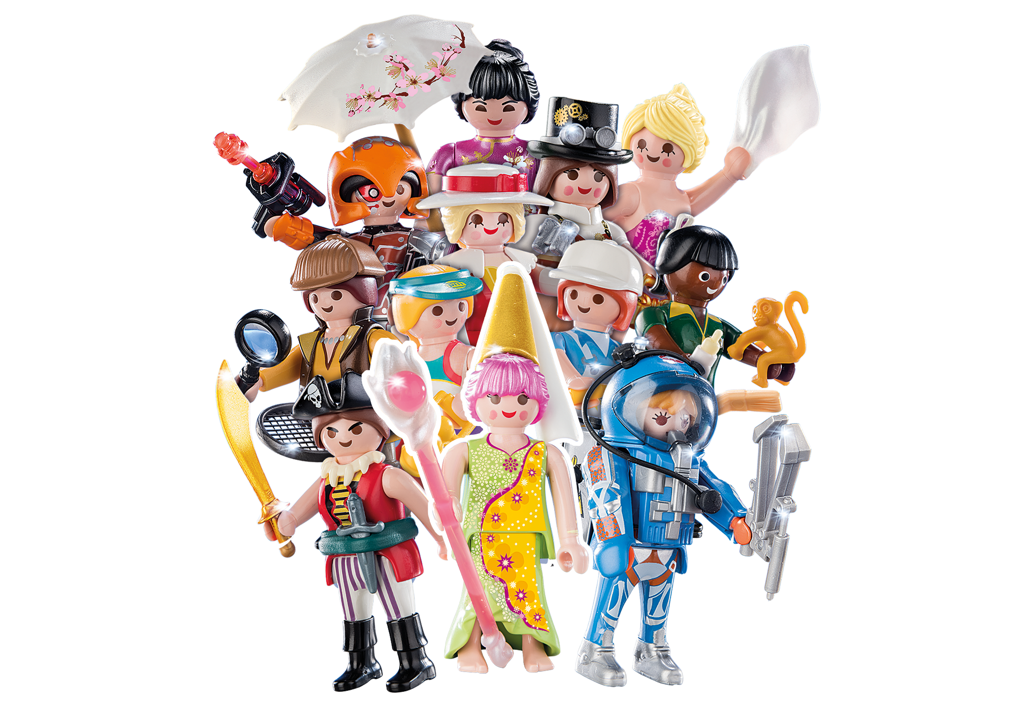 70160_product_detail/PLAYMOBIL-Figures Girls (S16)