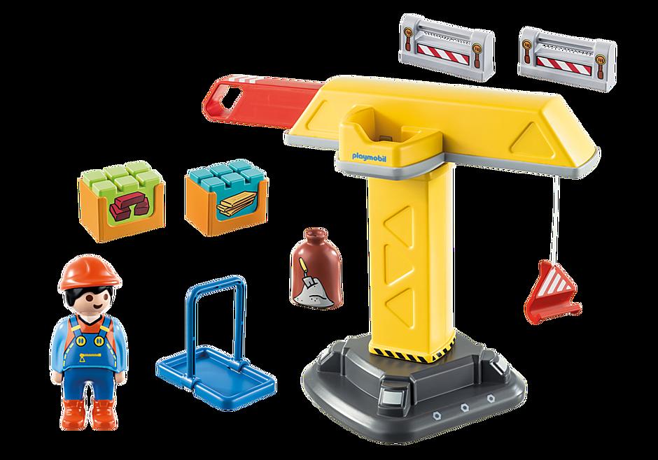 70165 Construction Crane detail image 3
