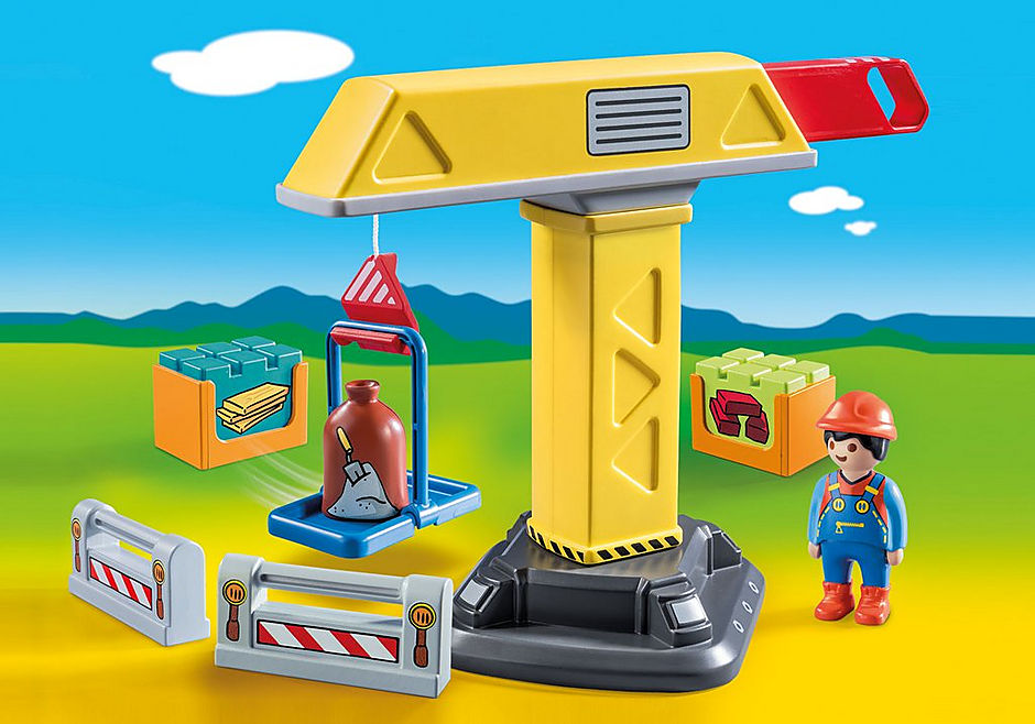 70165 Guindaste de Construção detail image 1