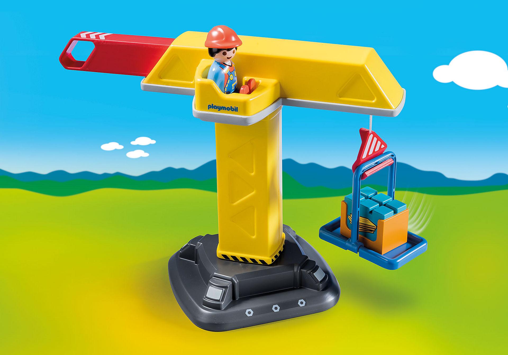 http://media.playmobil.com/i/playmobil/70165_product_extra1/Construction Crane