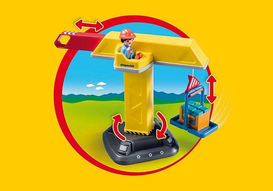 70165 Construction Crane detail image 5
