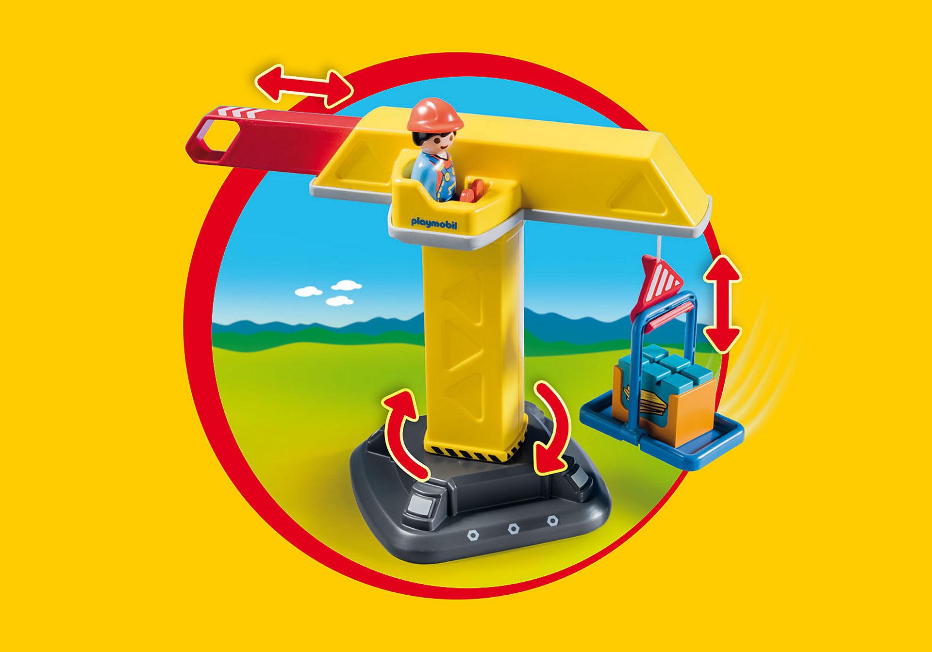 http://media.playmobil.com/i/playmobil/70165_product_extra2/Construction Crane