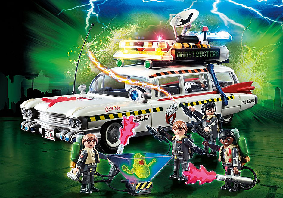Ghostbusters Ecto 1a 70170 Playmobil United Kingdom