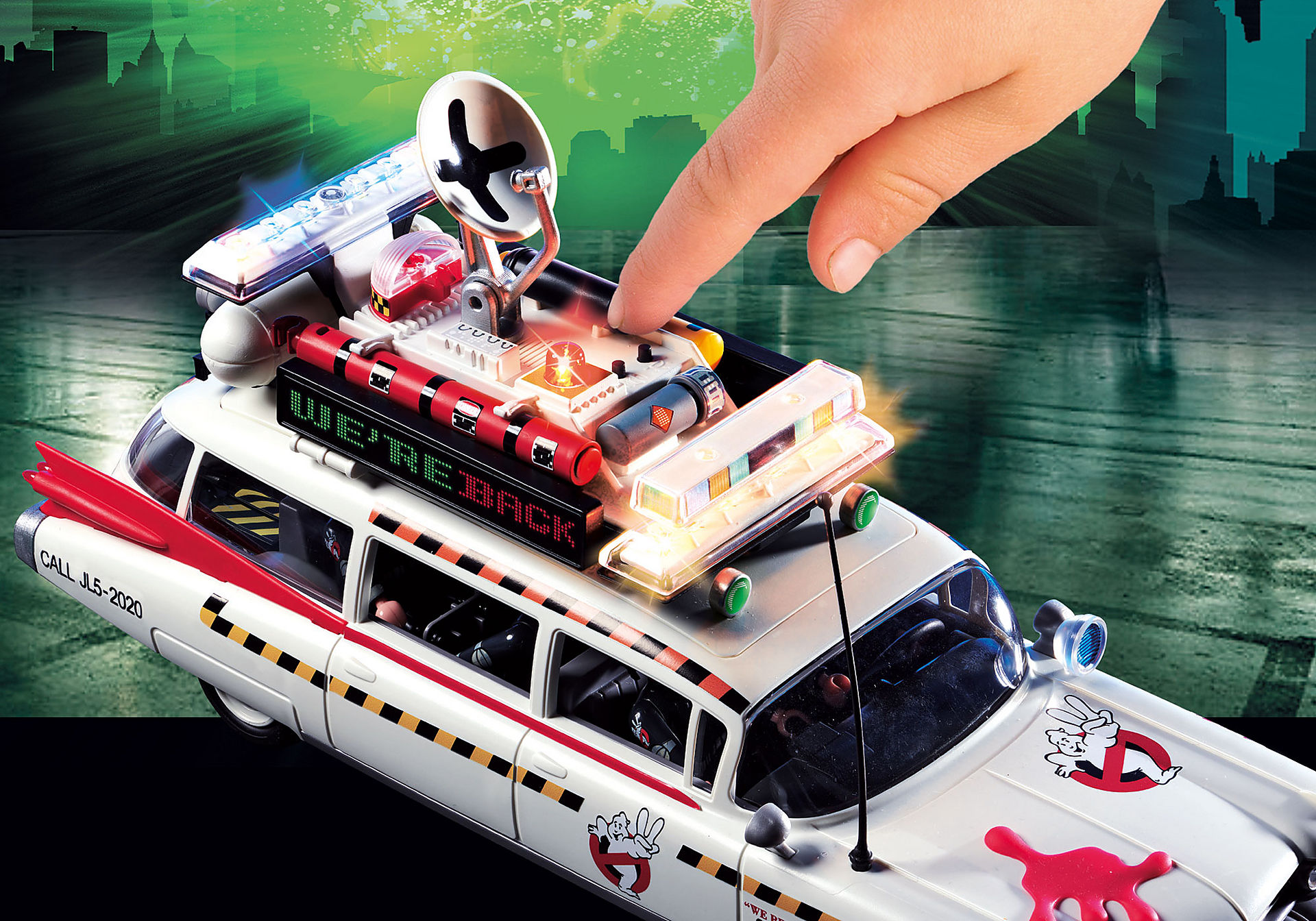 http://media.playmobil.com/i/playmobil/70170_product_extra1/Ghostbusters™ Ecto-1A
